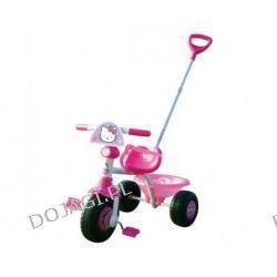 Rowerek trójkołowy Hello Kitty z rączką