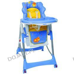 Krzesełko do karmienia Niebieska Krówka Baby Ono