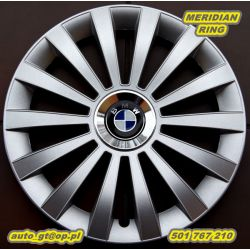 Kołpaki MERIDIAN 15' emblematy GRATIS BMW VW FIAT