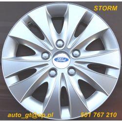 Kołpaki STORM 13 14 emblematy GRATIS AUDI FORD VW-