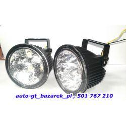 Światła PREMIUM jazdy Dziennej 9 cm LED 10-30V TIR